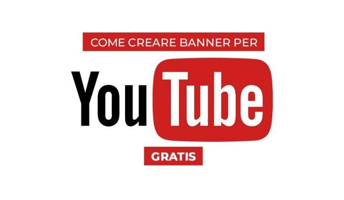 Come creare banner per youtube