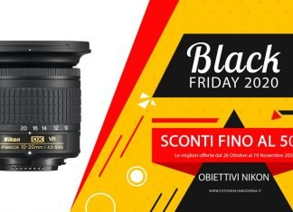 Black Friday Obiettivi Nikon