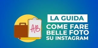 Come fare belle foto su instagram