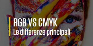 Differenze tra RGB e CMYK