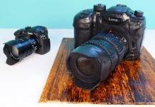 Torta a forma di macchina fotografica