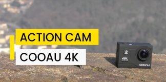 Action Cam COOAU 4K