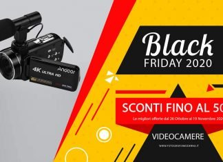 Black Friday Videocamere