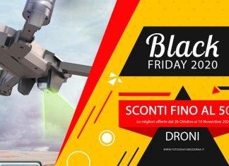Droni in offerta con il black friday