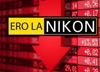 Un crollo delle vendite per la Nikon