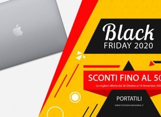 Portatili in offerta Black Friday
