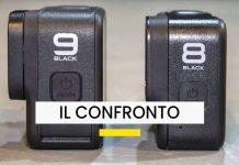 Il confronto tra la Hero 9 Black e la Hero 8 Black