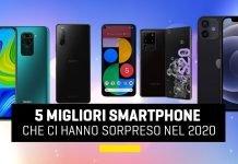 Migliori smartphone del 2020