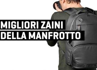 Migliori zaini Manfrotto fotografici