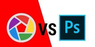 Picasa vs photoshop