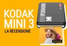 Recensione della Kodak Mini 3