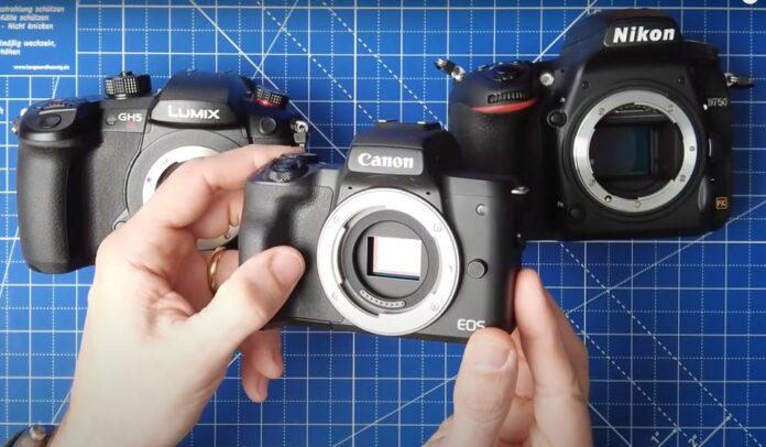 Differenze sensore fotocamera su foto ritratto