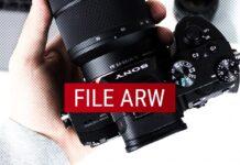 File ARW della Sony