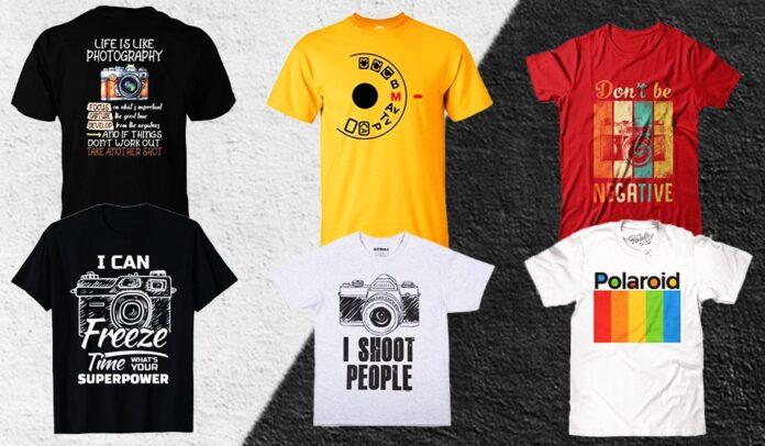 Migliori magliette per fotografi